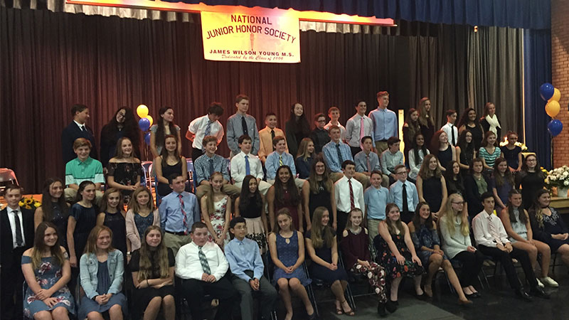 National Junior Honor Society Inductions