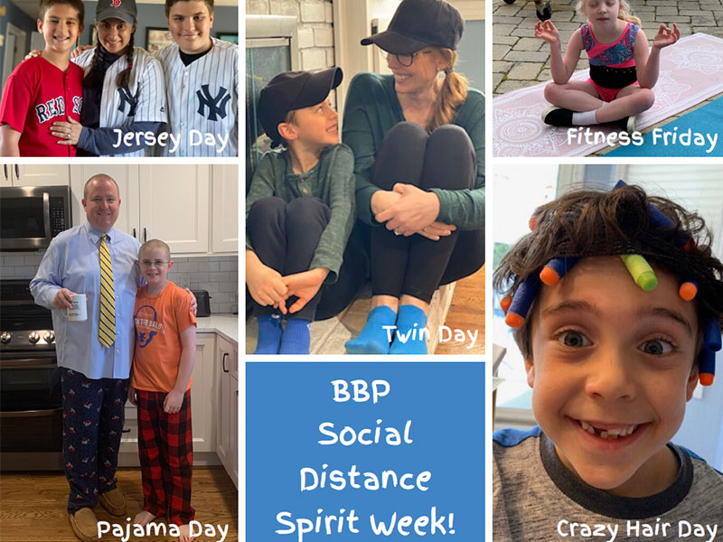 Social Distance Spirit Week