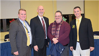 Board of Education Recognizes Teacher of the Month photo