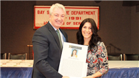 "Dayna Russo Named ""Teacher of Excellence"" Photo"