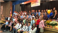 Joining the National Junior Honor Society photo